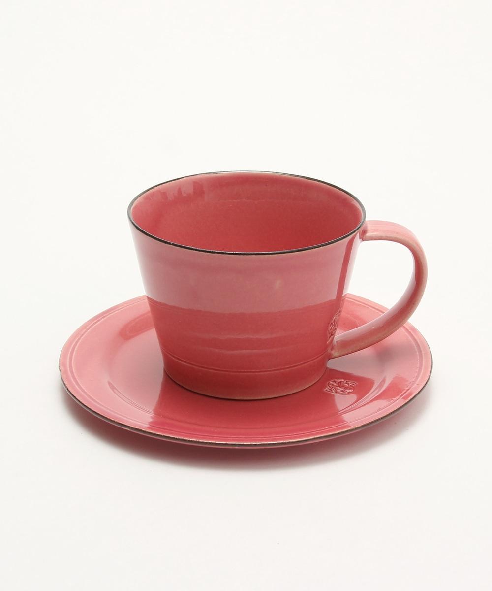 SAKUZAN/カップ&ソーサー  ピンク